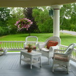 The perfect welcoming veranda