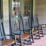Front Porch des Besucherzentrums