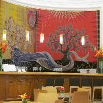 The bar in the Maison du Vin