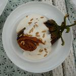 Fatteh: Aubergines with yogurt and fried pitta bread