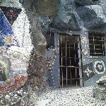 Cave dwelling.