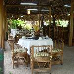 Pool Breakfast -  La Palapa Ecolodge Resort.