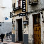 Front view of the posada