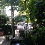 Lauschige Gartenterrasse