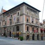 The majestic Casino building - restaurant is on 1st floor