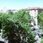 Panorama dalla finestra della camera