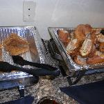 creme brulee French toast and Monte Cristo sandwich