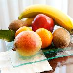 Fruit on arrival, in our suites