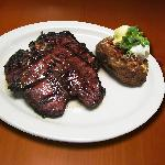 Best steak and loaded baked potato in North Brevard