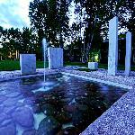 Herbert Bayer's Marble Garden
