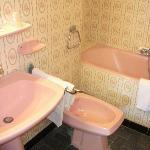 Il bagno rosa