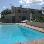 il casale vista piscina