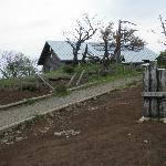 山頂にある山小屋