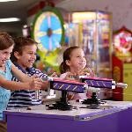 Arcade full of video and redmption games