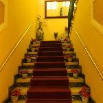 escalier à monter