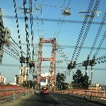 Pasando el puente