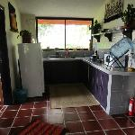 Kitchen in my casita
