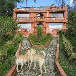 Main lodge at Ali Shungu