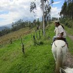 Horseback riding with Jose Maria