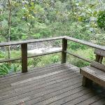 Waterfall Deluxe Cabin deck