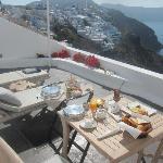 breakfast in room private balcony