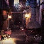 Passage and dinner hall