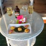 Sunset Champagne & Canapes