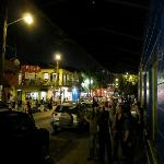 A view up Frenchmen St.