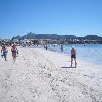 Plage de puerto d'Alcudia