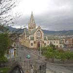 La iglesia San Sebastian o de la Panaderia al lado del hotel
