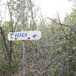 Just a few minutes walk off the beaten track to yet another secluded beach!