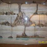 riproduzione delle grotte nel museo di S. Vittore