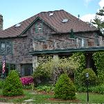 The outside of the B & B