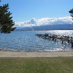Stunning views from our Casa Loma Resort cabin on Lake Okanagan