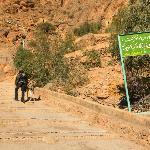 Chak Chak: tough way uphill