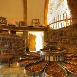Chak Chak: inside the grotto shrine
