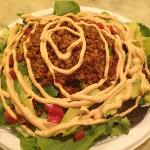 The Raw Taco Salad. This is REALLY good if you eat Raw!