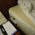 Adjustable firmness on mattress