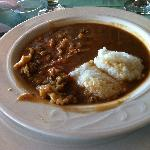 Yummy Conch stew and grits