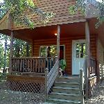 Our loft cabin