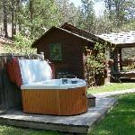 Hot Tub at the Willows