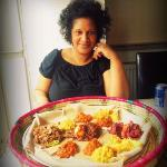 me and the sharing platter