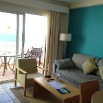 living are with sea view, room 853