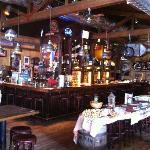Restaurant mit Bar und Buffet