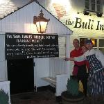 Pio (chef), Nadege and Bruno (patron) @ Bull Inn's opening