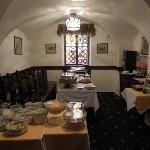 sala colazione a buffet