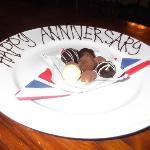 Happy Anniversary gesture was appreciated