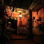 el riad andaluz patio by night