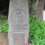 Gedenkstein judische Gemeinde