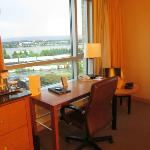 Desk overlooking the Columbia River